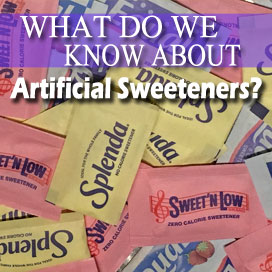 Artificial Sweetener Conclusions